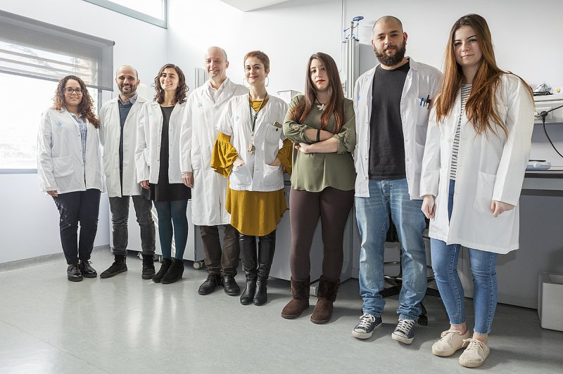 Researchers of the Experimental Tuberculosis Unit at the IGTP