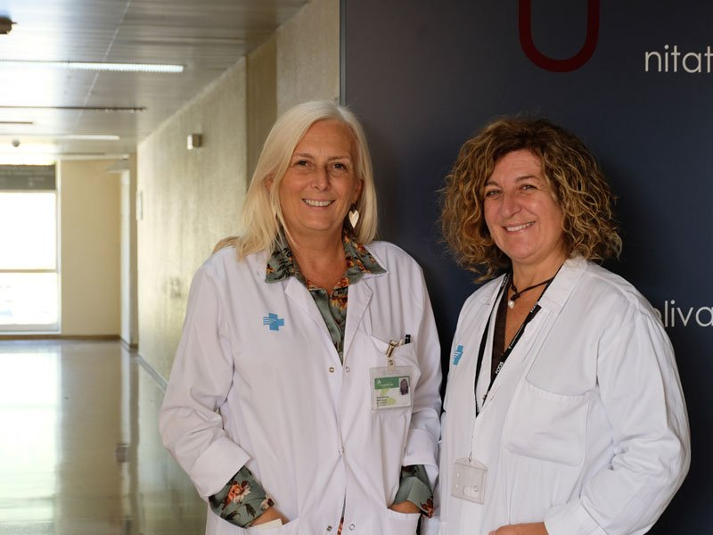 Dr. Cristina Ramo and Dr. Eva Martínez-Cáceres are leading the project at Germans TriasDr. Cristina Ramo and Dr. Eva Martínez-Cáceres are leading the project at Germans Trias